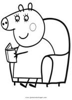 peppa wutz 17 gratis Malvorlage in Comic ...