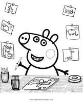peppa wutz 35 gratis Malvorlage in Comic ...