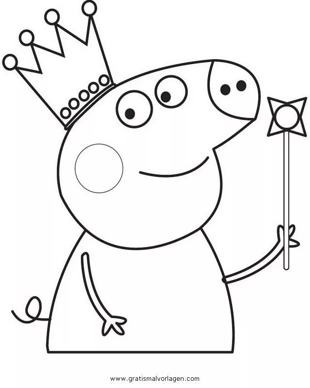Peppa wutz 40 gratis Malvorlage in Comic