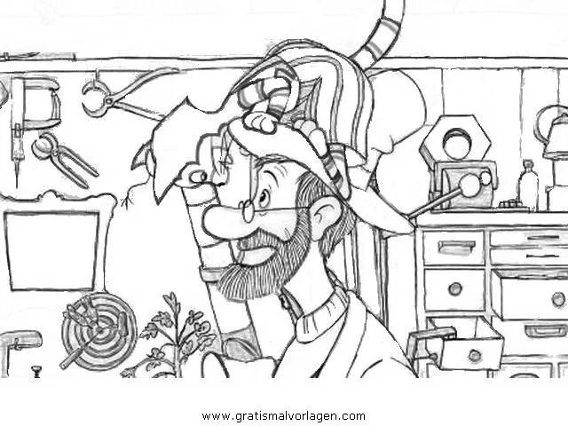 Petterson findus 13 gratis Malvorlage in Comic