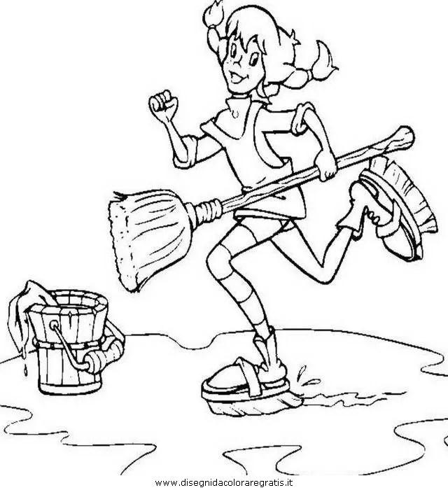 Pippi langstrumpf 19 gratis Malvorlage in Comic