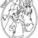 Pippi Langstrumpf Malvorlagen zum Ausmalen für Kinder