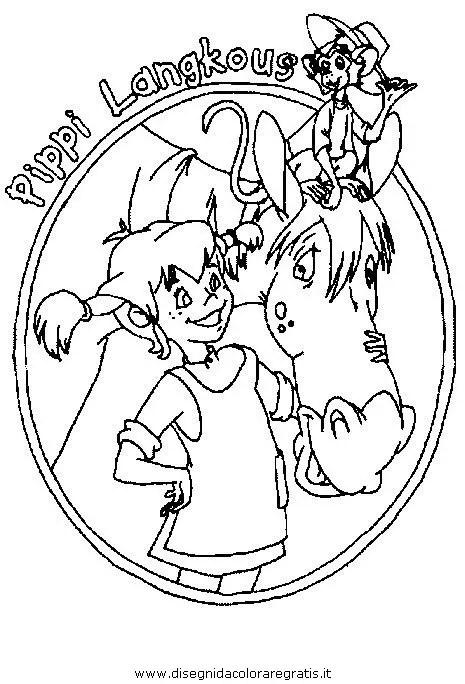 Pippi langstrumpf 28 gratis Malvorlage in Comic