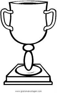 Pokal 2 gratis Malvorlage in Beliebt02 Diverse