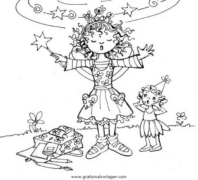 Prinzessin lillifee 12 gratis Malvorlage in Comic