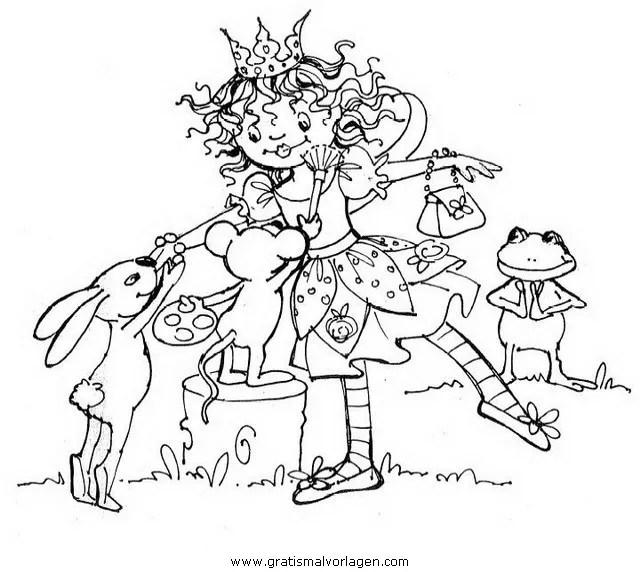 Prinzessin lillifee 13 gratis Malvorlage in Comic