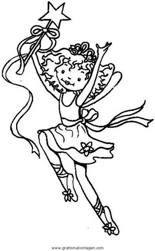 Prinzessin lillifee 28 gratis Malvorlage in Comic
