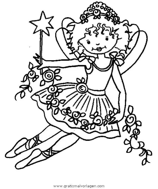 Prinzessin lillifee 29 gratis Malvorlage in Comic