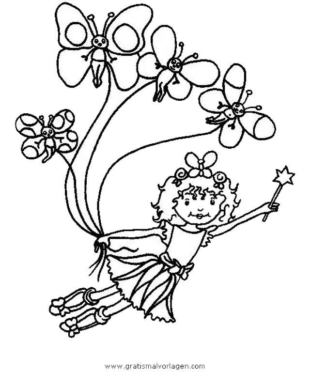 Prinzessin lillifee 30 gratis Malvorlage in Comic