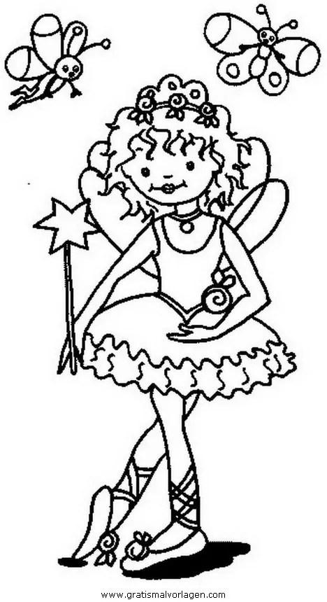 Prinzessin lillifee 31 gratis Malvorlage in Comic