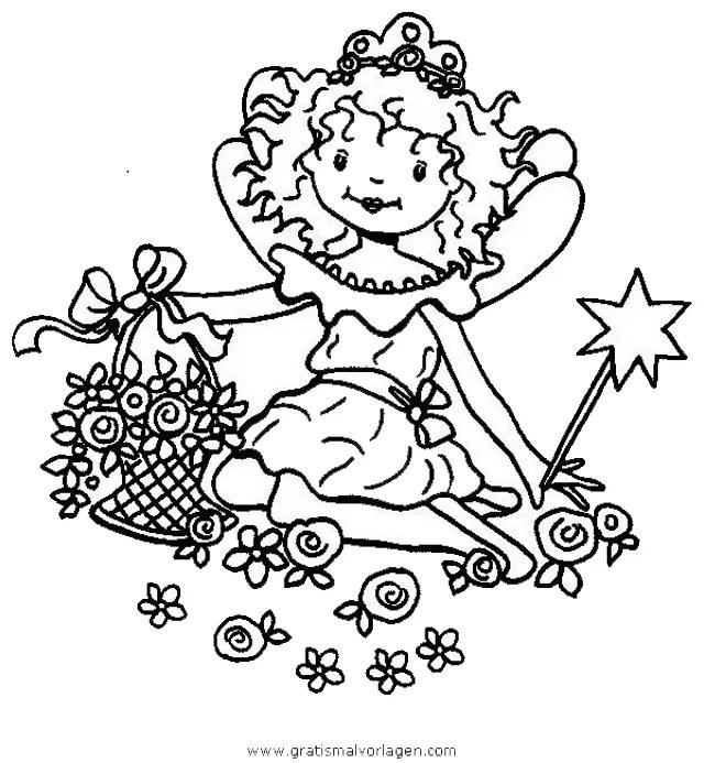 Prinzessin lillifee 35 gratis Malvorlage in Comic