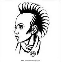 punker 6 gratis Malvorlage in Beliebt04, Diverse ...