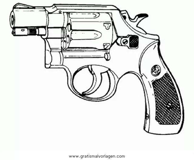 Revolver 3 Gratis Malvorlage In Beliebt03 Diverse