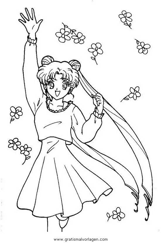 Sailor moon 26 gratis Malvorlage in Comic