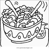 salat 1 gratis Malvorlage in Essen & Trinken, Gemüse ...