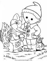 sandmannchen sandmann 02 gratis Malvorlage in Comic ...