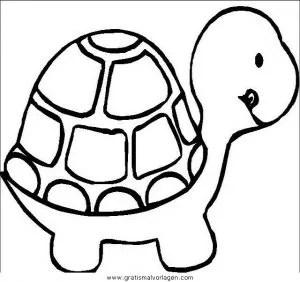 Schildkroten 45 gratis Malvorlage in Schildkröten Tiere