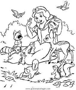 Schneewittchen 26 gratis Malvorlage in Comic