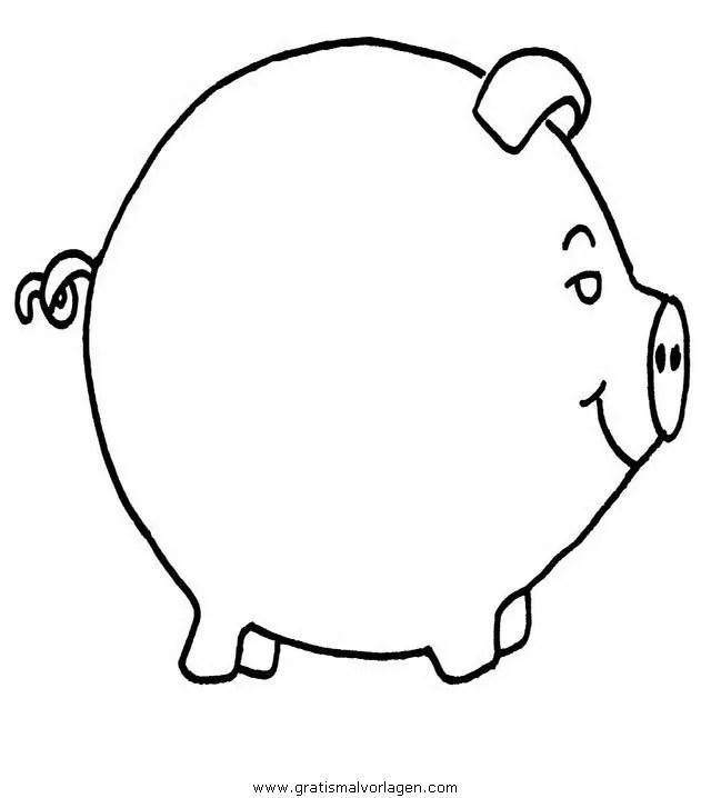 Schweine 175 Gratis Malvorlage In Schweine Tiere Ausmalen