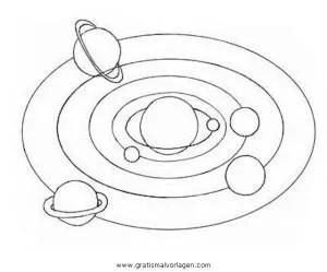 Sonnensystem gratis Malvorlage in Beliebt09 Diverse