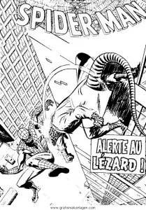 Spiderman 07 gratis Malvorlage in Comic & Trickfilmfiguren
