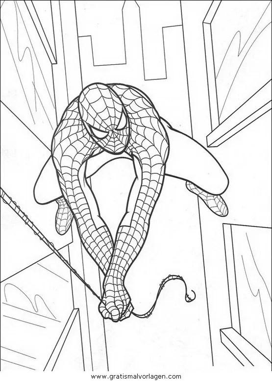 Malvorlagen Spiderman Gratis