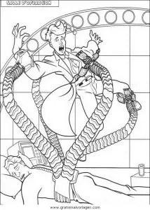 Spiderman 28 gratis Malvorlage in Comic & Trickfilmfiguren
