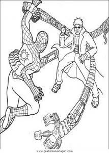 Spiderman 37 gratis Malvorlage in Comic & Trickfilmfiguren