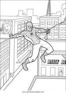 Spiderman 51 gratis Malvorlage in Comic & Trickfilmfiguren