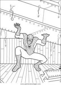 Spiderman 58 gratis Malvorlage in Comic & Trickfilmfiguren