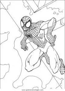 Spiderman 68 gratis Malvorlage in Comic & Trickfilmfiguren