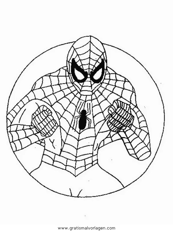 Spiderman 75 gratis Malvorlage in Comic & Trickfilmfiguren