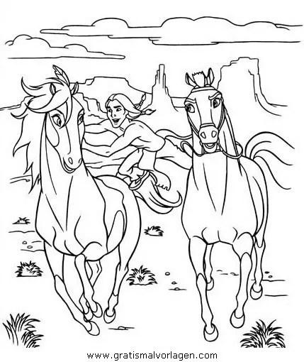 Spirit der wilde mustang13 gratis Malvorlage in Comic