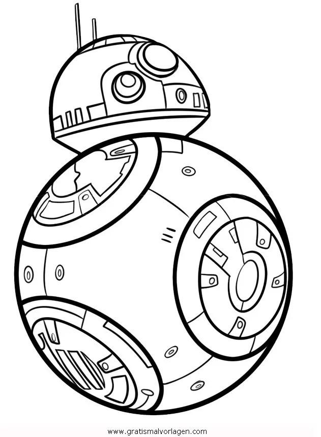 Star wars 11 gratis Malvorlage in Science Fiction Star