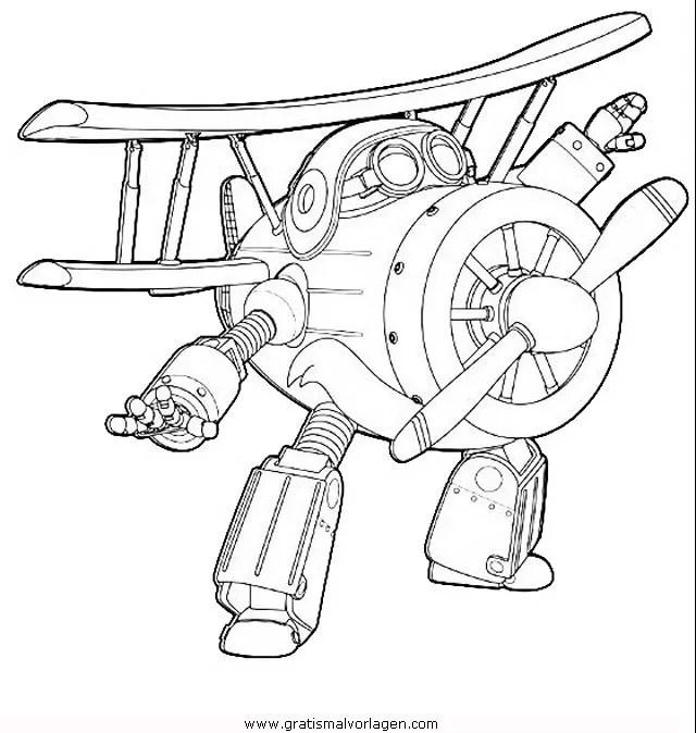 Super wings 08 gratis Malvorlage in Comic