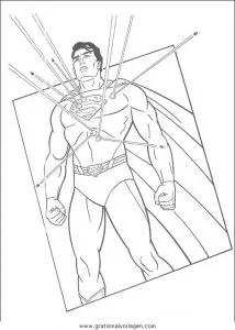 Superman 27 gratis Malvorlage in Comic & Trickfilmfiguren