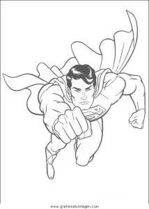 Superman 29 gratis Malvorlage in Comic & Trickfilmfiguren
