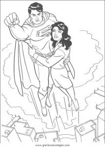 Superman 37 gratis Malvorlage in Comic & Trickfilmfiguren
