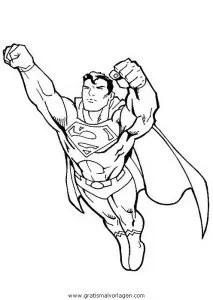 Superman 49 gratis Malvorlage in Comic & Trickfilmfiguren