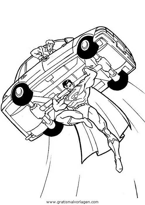 Superman 54 gratis Malvorlage in Comic & Trickfilmfiguren