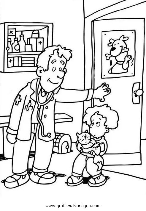 Malvorlage Tierarzt