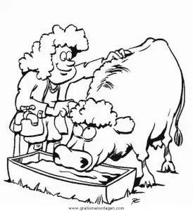 Gratis Malvorlagen Tiere Bauernhof