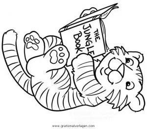 Malvorlage kleiner tiger janosch Coloring and Malvorlagan