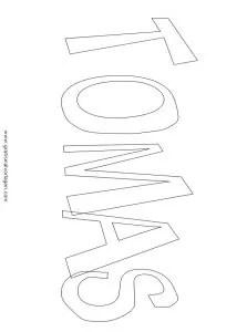 Tomas 02 gratis Malvorlage in Diverse Malvorlagen Namen