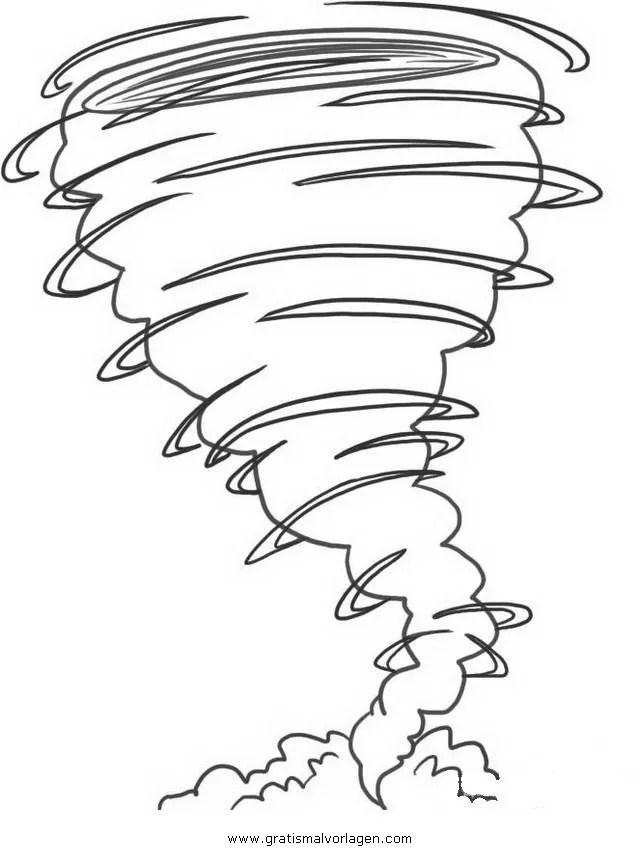 tornado gratis Malvorlage in Beliebt09, Diverse