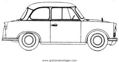 trabant b gratis Malvorlage in Autos, Transportmittel ...