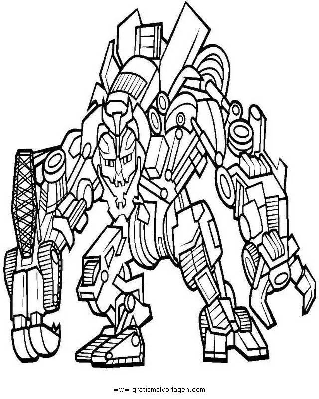 Transformers megatron 2 gratis Malvorlage in Comic