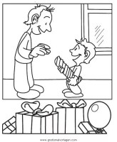 Gratis Malvorlagen Vatertag   Zeichnen und Färben