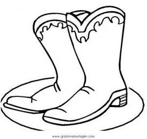 Schuhe 6 gratis Malvorlage in Diverse Malvorlagen