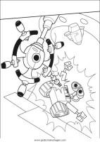 wall e 64 gratis Malvorlage in Comic & Trickfilmfiguren ...